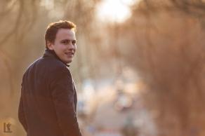 Shooting im Gauss Park mit Tim Engelke Februar 2017